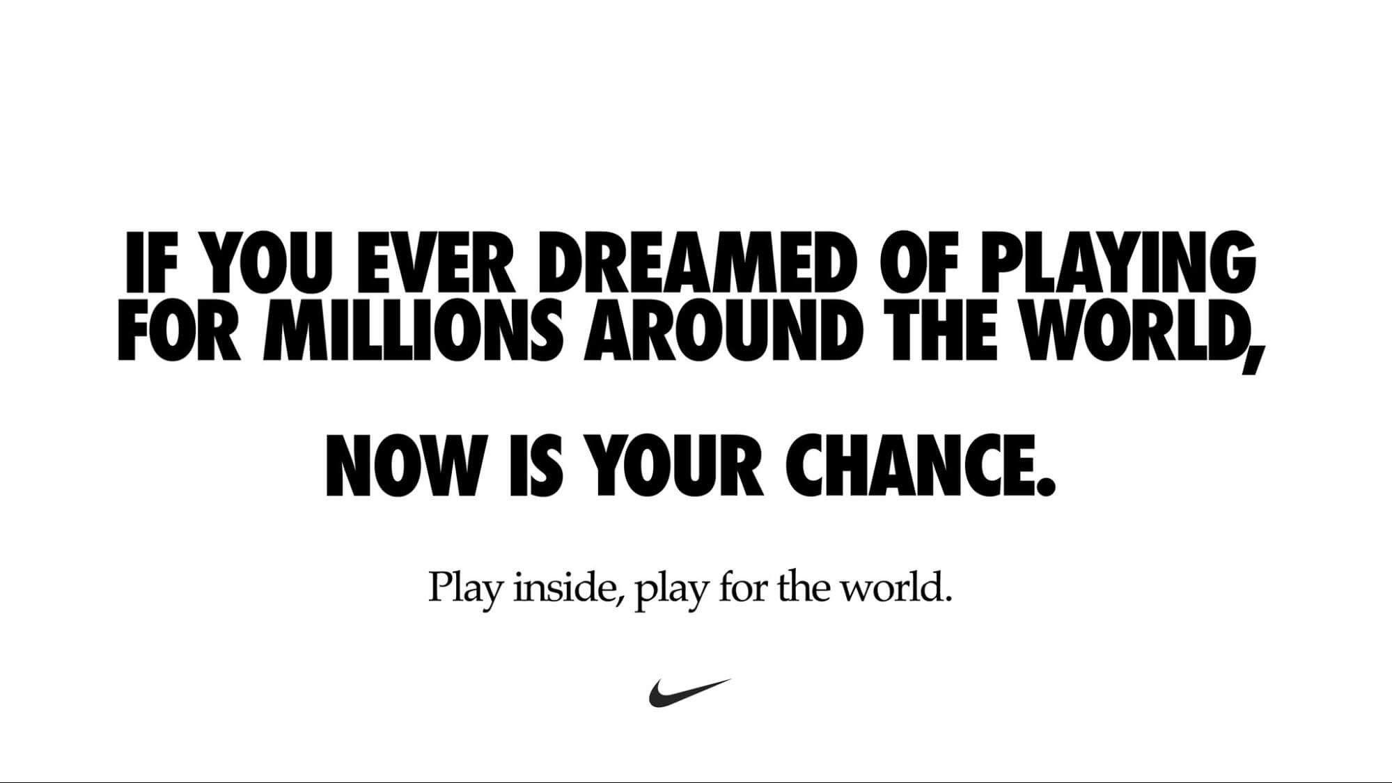 Nike #playforthworld