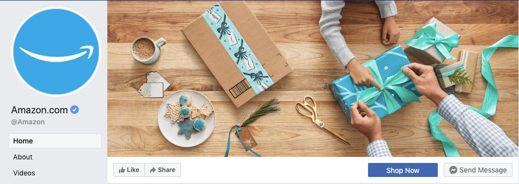najlepsze kampanie świąteczne - Amazon