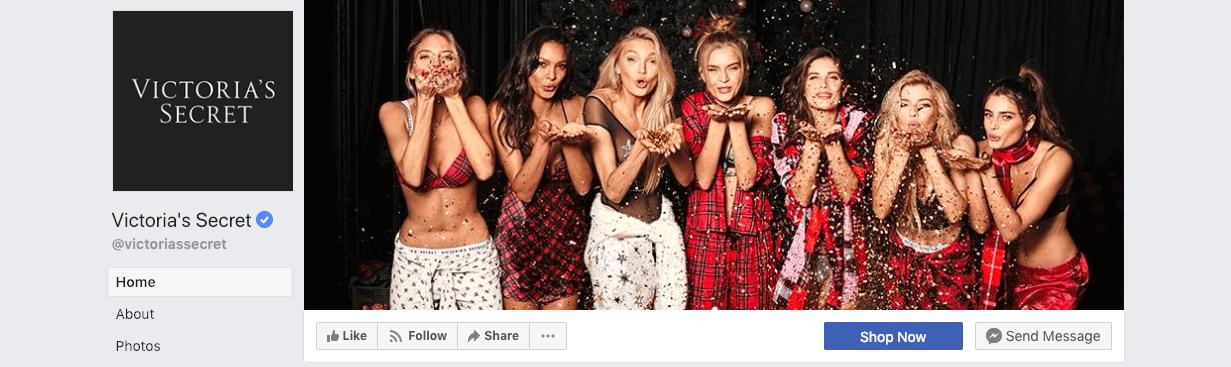 najlepsze kampanie świąteczne - Victoria Secrets