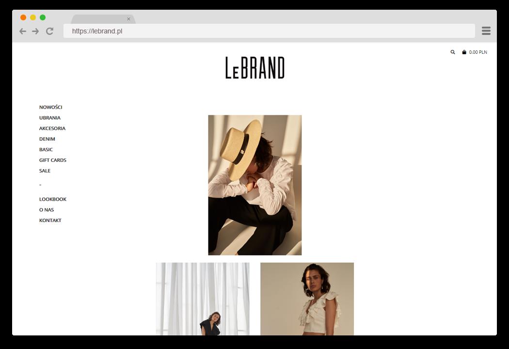 LeBRAND Lookbook