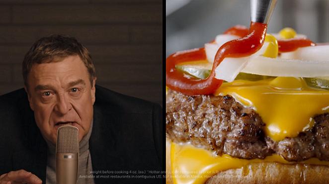 Kadr z reklamy Mc Donalds
