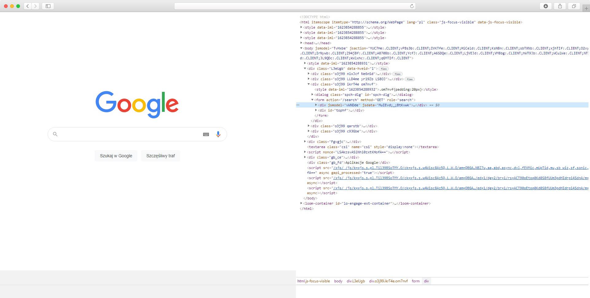 jak Google widzi moją stronę
