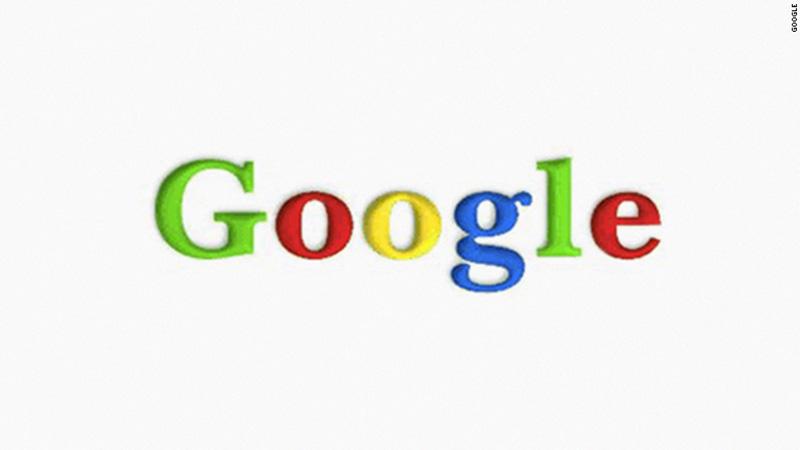 pierwsze logo Google