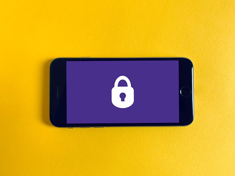 zdjęcie zablokowanego telefonu