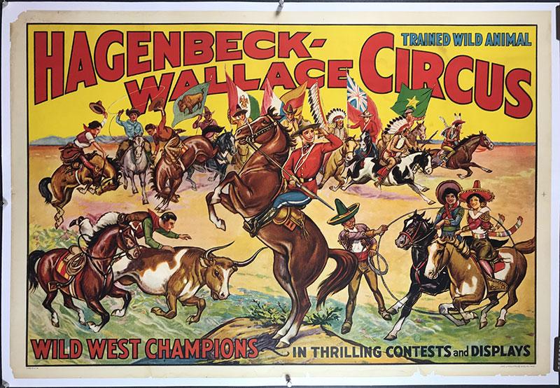 reklama cyrku 1835 rok