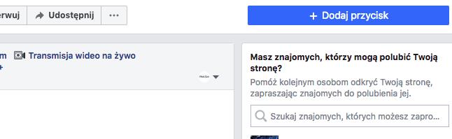 Zapraszanie znajomych na Facebook