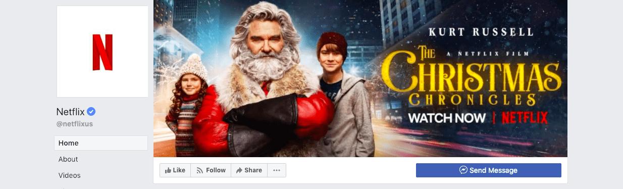 najlepsze kampanie świąteczne - Netflix