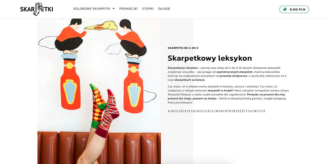 strona skarpetki.sklep.pl